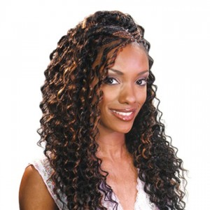 FreeTress Synthetic Hair Crochet Braids Deep Twist 22""