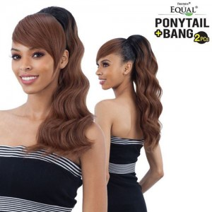 Freetress Equal Drawstring Ponytail Loose Deep 2Pcs