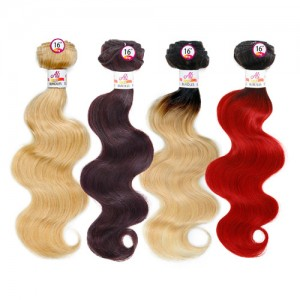 Ali Bundles Unprocessed Brazilian Virgin Human Hair Weave Body Wave
