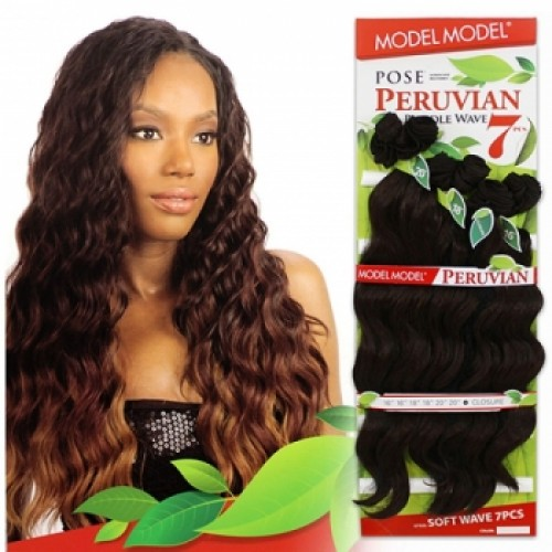 Model Model Pose Peruvian SOFT WAVE 7pcs