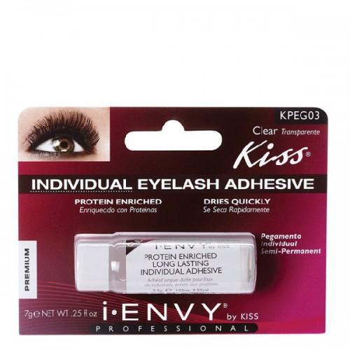 I Envy by Kiss Individual Long Lasting Eyelash Adhesive Clear