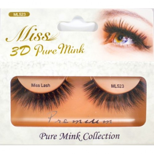 Miss 3D Pure Mink Lash - ML523