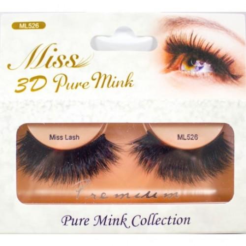 Miss 3D Pure Mink Lash - ML526