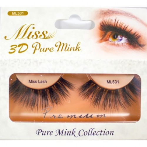 Miss 3D Pure Mink Lash - ML531