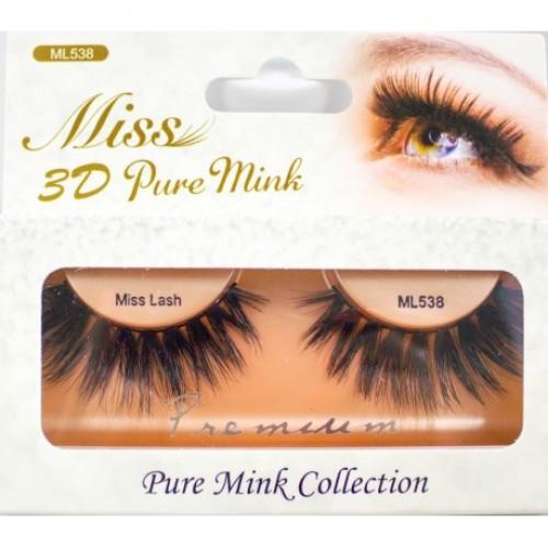 Miss 3D Pure Mink Lash - ML538