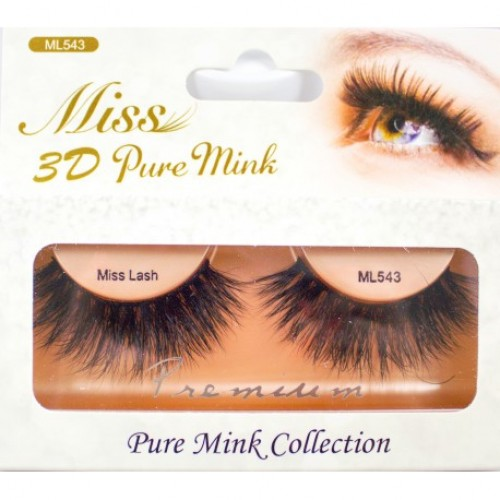Miss 3D Pure Mink Lash - ML543