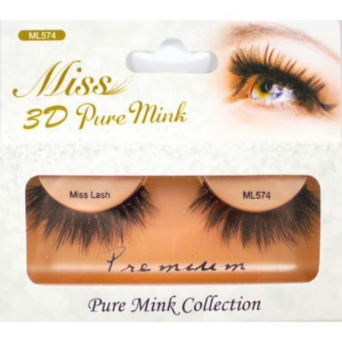 Miss 3D Pure Mink Lash - ML574