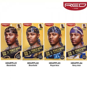 KISS RED Bow Wow Power Wave Luxe Design Durag