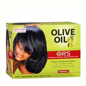 ORS Olive Oil Built-In Protection No-Lye Hair Relaxer System Normal