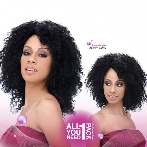 HARLEM 125 INDIAN REMY 5 STAR JERRY CURL 5PCS