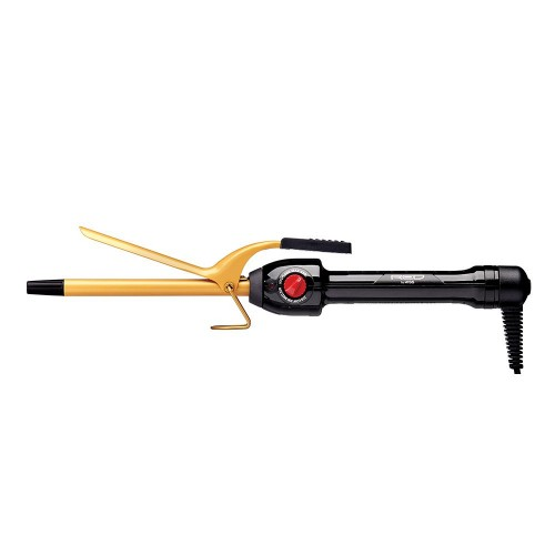 Red by Kiss Ceramic Tourmaline Professional Curling Iron 3/8""