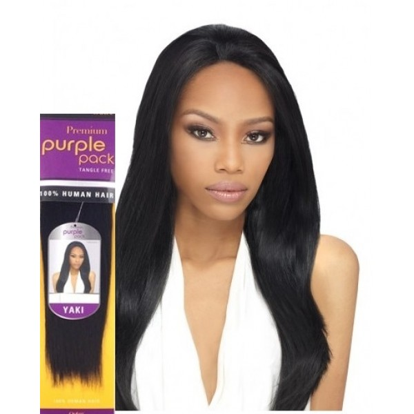 Outre Human Hair Weave Premium Purple Pack Yaki 2pack Deal