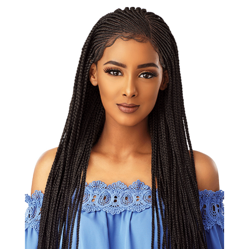 Sensationnel Cloud 9 Swis Lace Wig SIDE PART CORNROW