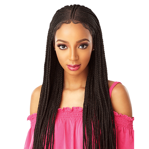 Sensationnel Cloud 9 Swis Lace Wig FULANI CORNROW