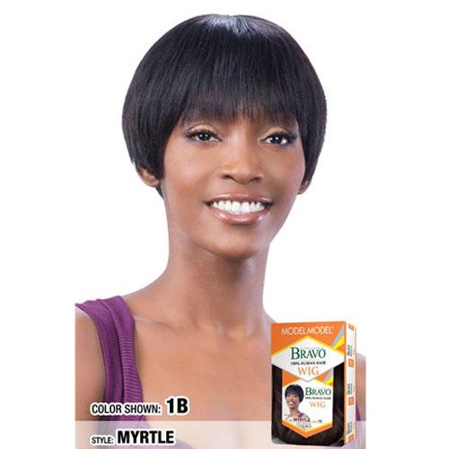 Model Model Bravo Human Hair Wig MYRTLE