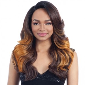 Model Model Deep Invisible L-Part Lace Front Wig TOP MEADOW