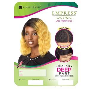 Sensationnel Lace Wig Empress Edge Deep Curved Part JALYN
