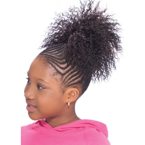 Model Model Glance Kids Drawstring Ponytail Chloe