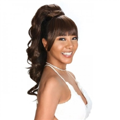 Zury Drawstring Synthetic Ponytail Miss Bang Cute