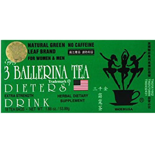 3 Ballerina Herbal Tea 18pack