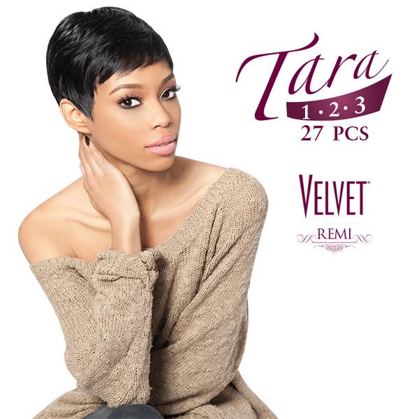 Outre 100 Remy Human Hair Weave Velvet Remi Tara123